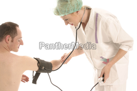 nurse, at, examination - 567111
