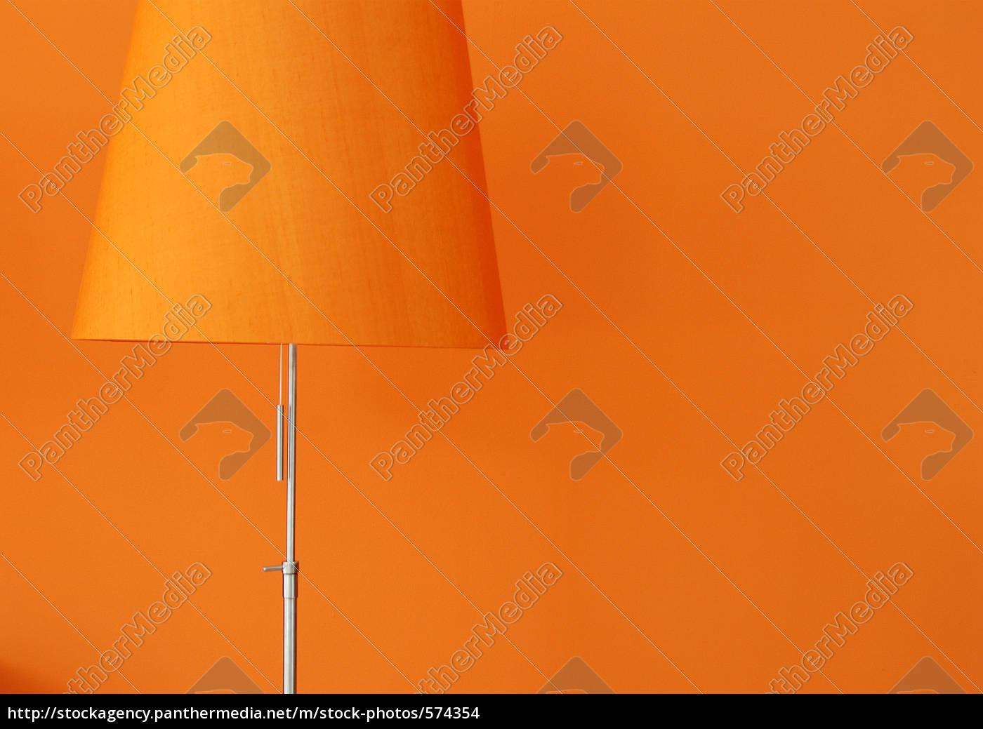 floor, lamp, orange - 574354