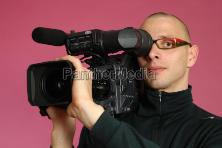 portrait, with, camera - 578390