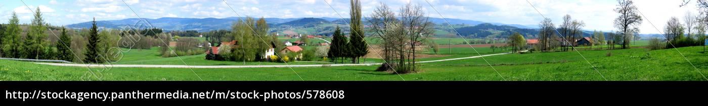 spring, panorama - 578608