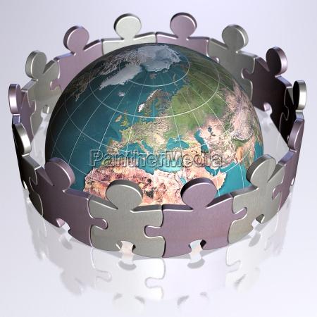 one, world, 3 - 588046