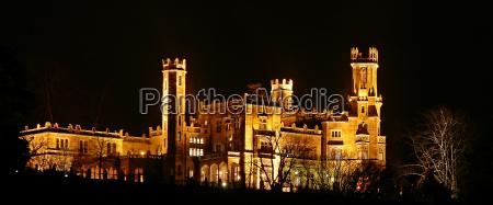 night photograph saxony dresden