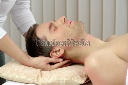neck, massage - 593760