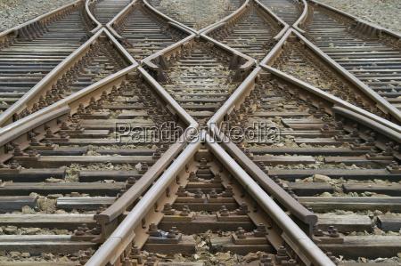 madeira cruz trilho ferro parafuso caminho