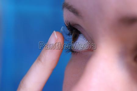 contact, lens - 595377