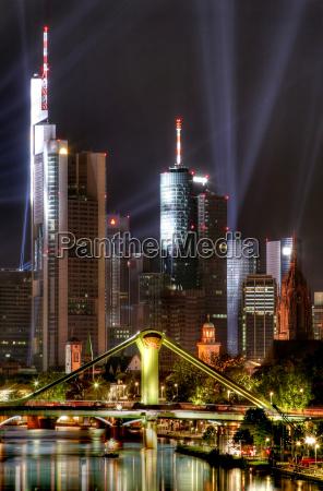 frankfurt, skyline - 598010