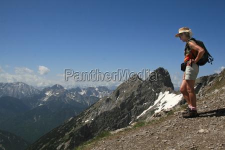mountain, tour, in, karwendel - 598969