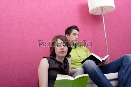 young, people, reading - 598526