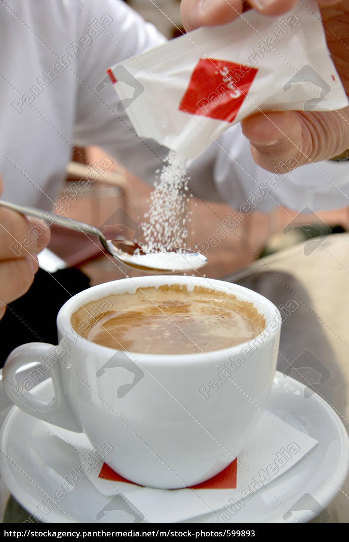 cafe, con, azucar - 599893