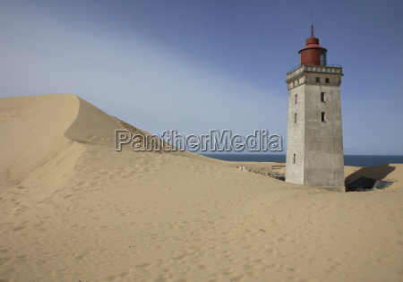 the abandoned lighthouse rubjerg fyr