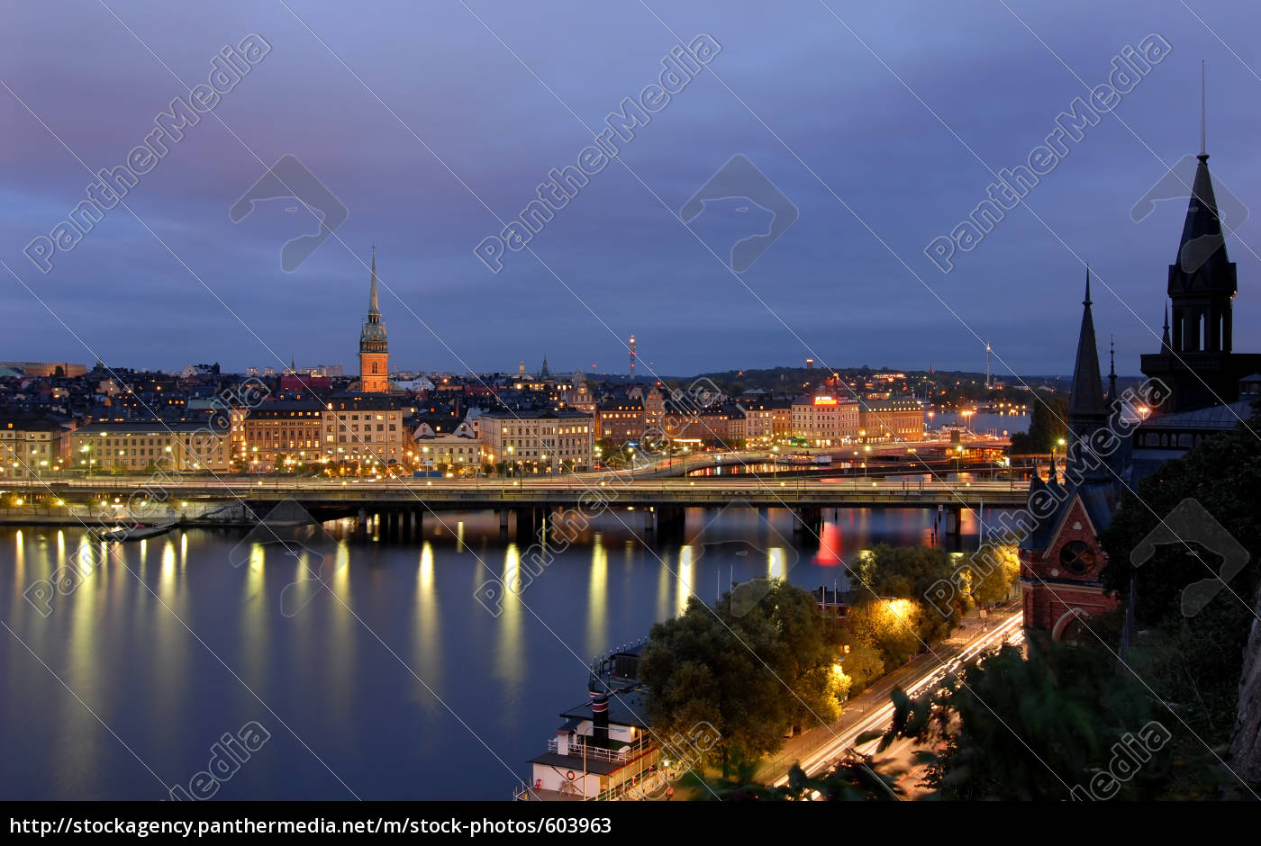 stockholm, by, night - 603963