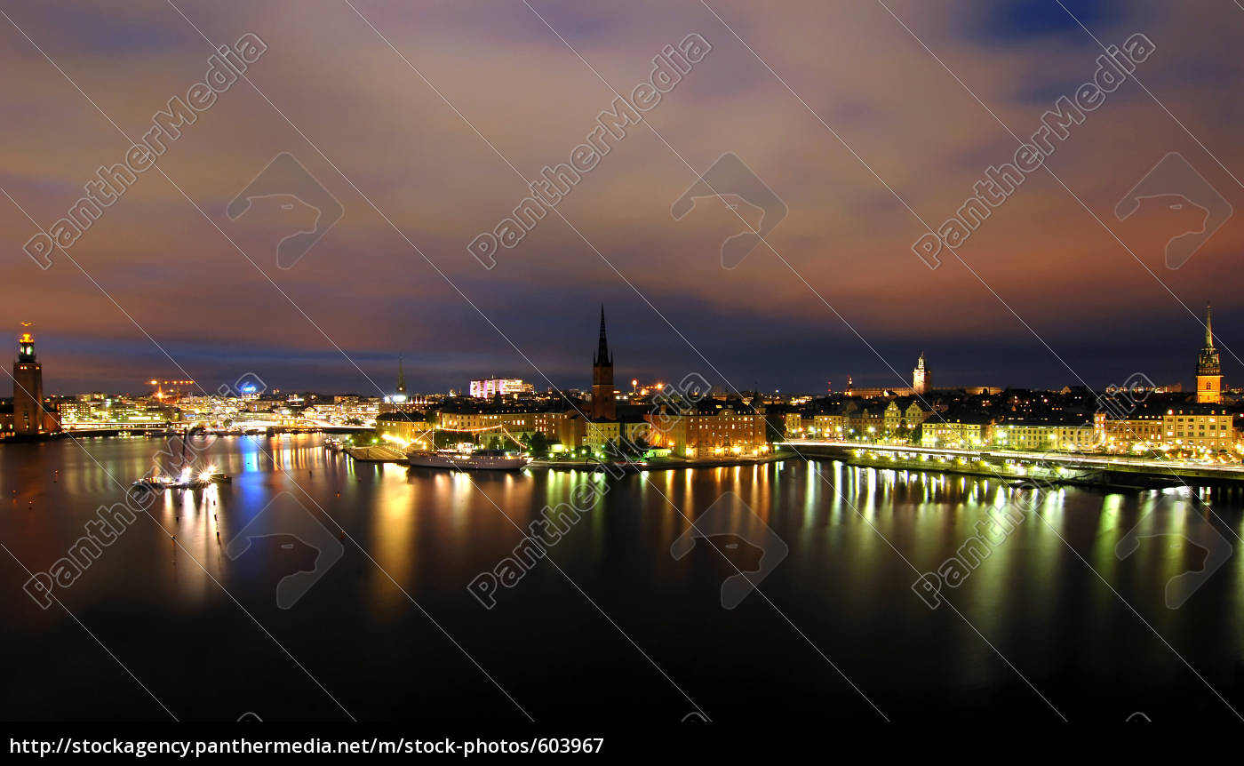 stockholm, by, night - 603967