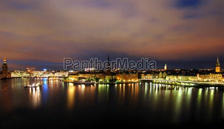 stockholm, by, night - 603967