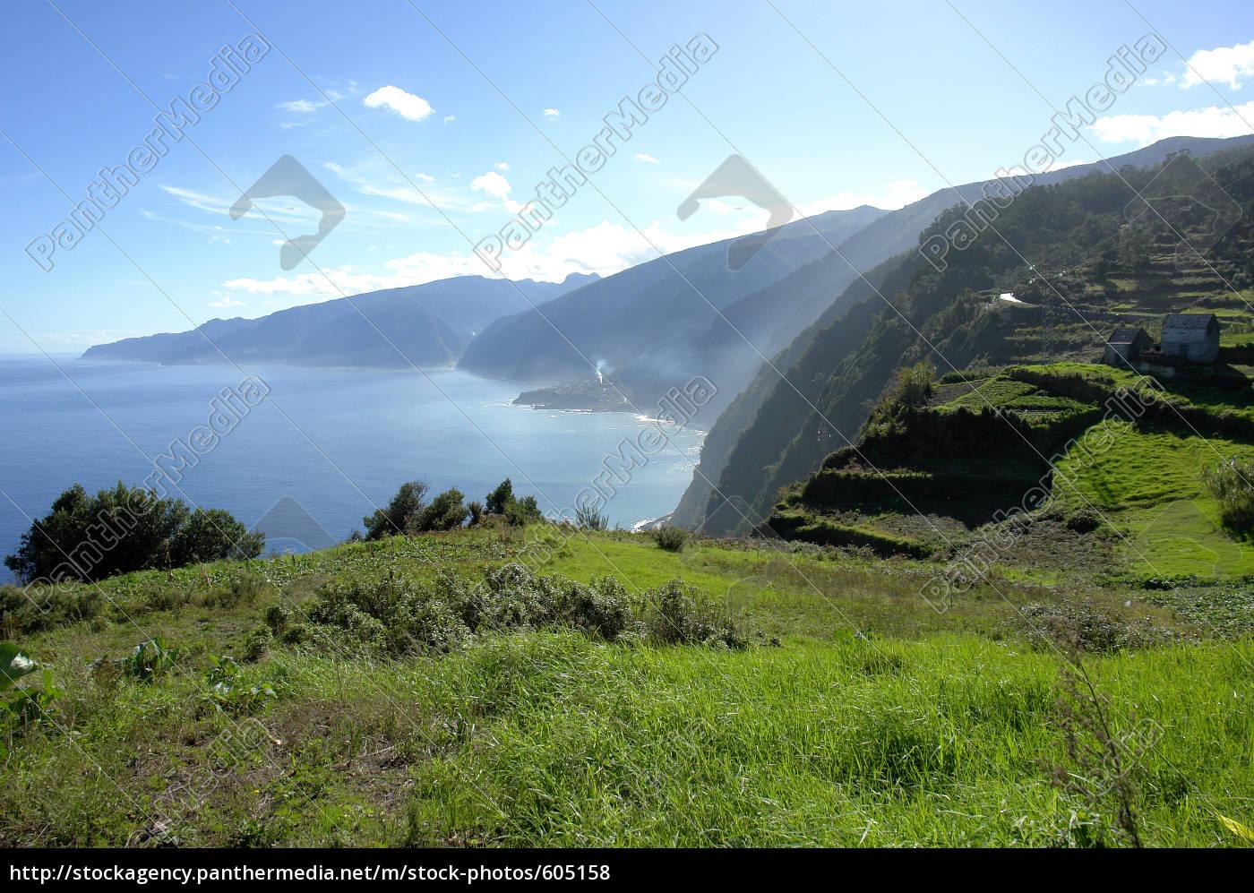 cliffs, on, madeira - 605158