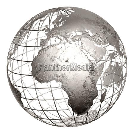 metal, globe - 614622