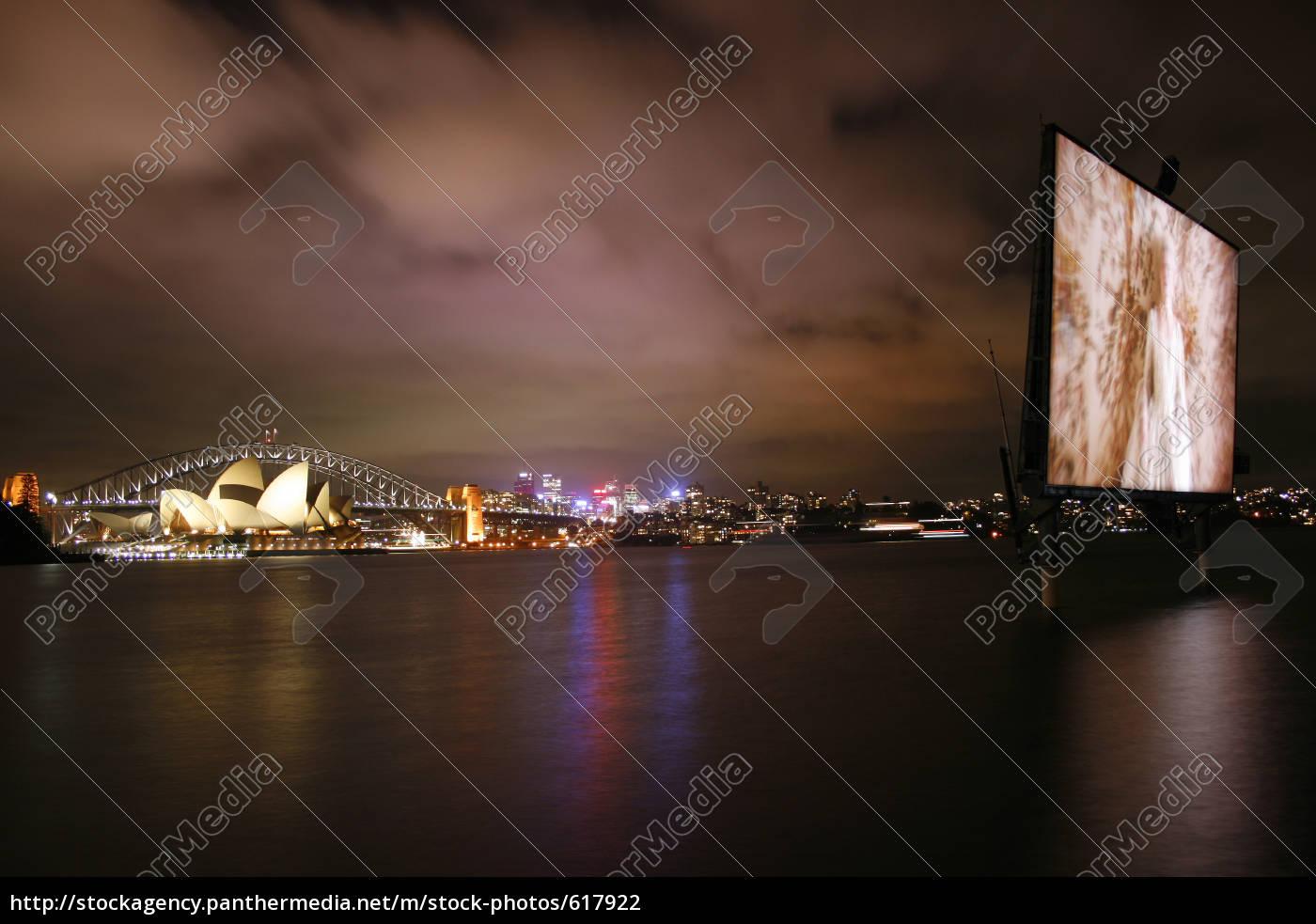 open, air, cinema, in, sydney - 617922