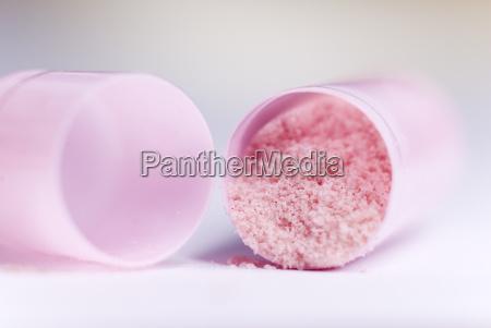 opened, pink, capsule - 618410