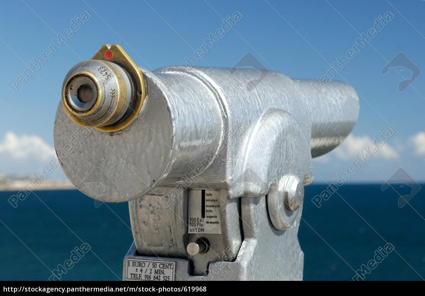 telescope, at, sea, coast - 619968