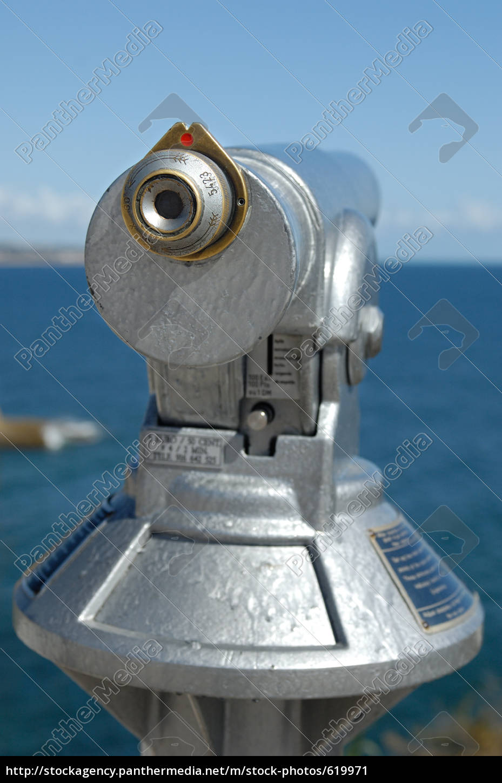 telescope, on, seashore - 619971