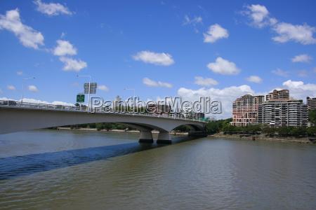 bridge, over, brisbane, river - 621242