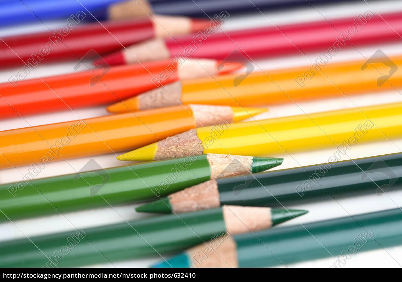 colored, pencils - 632410