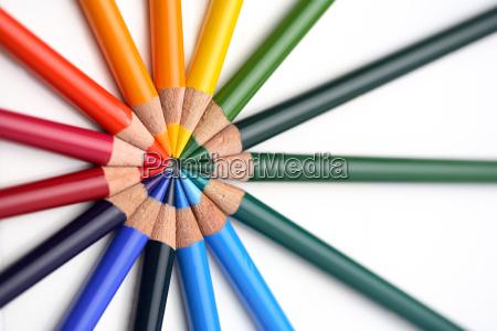 colored, pencils - 632413