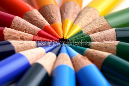 colored, pencils - 632427
