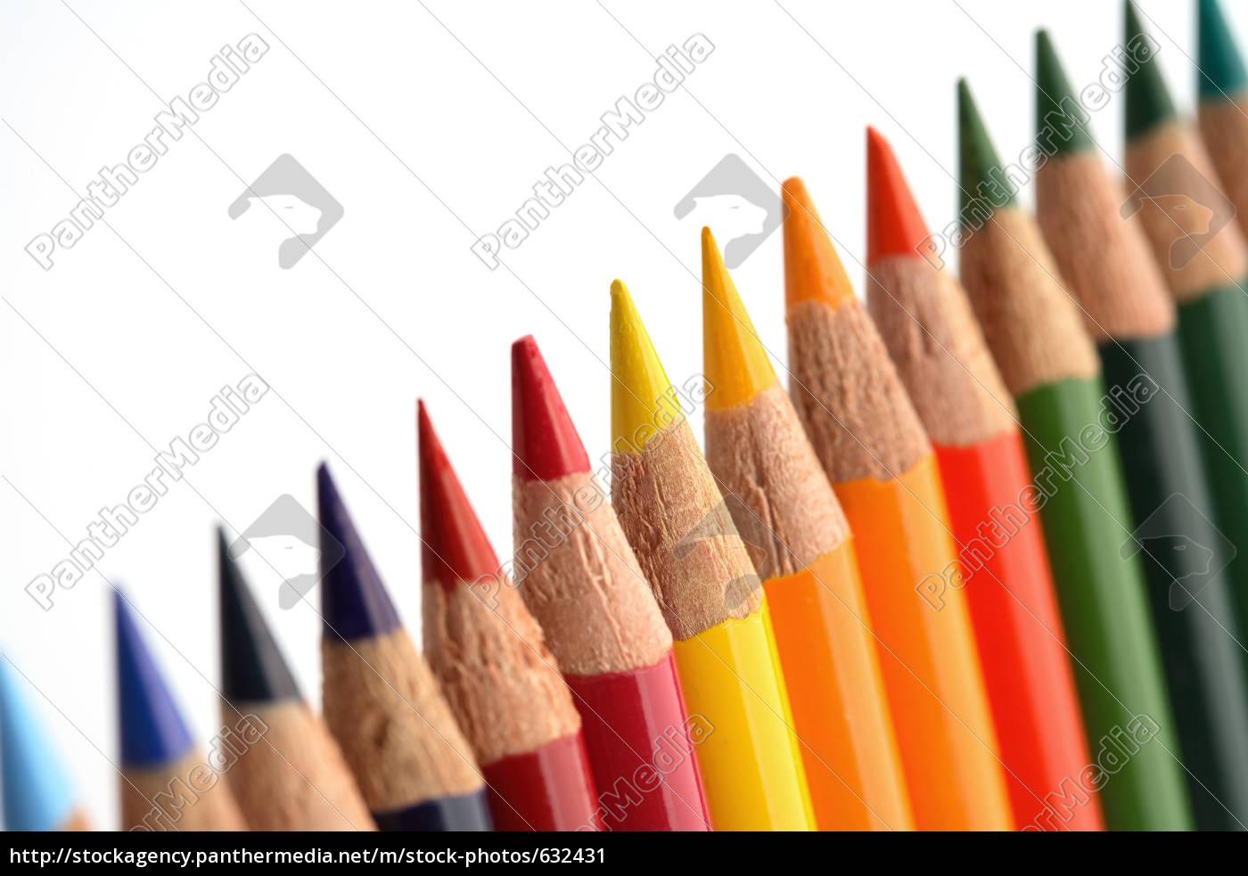 colored, pencils - 632431