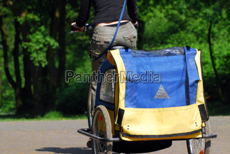 bicycle, trailers - 633341