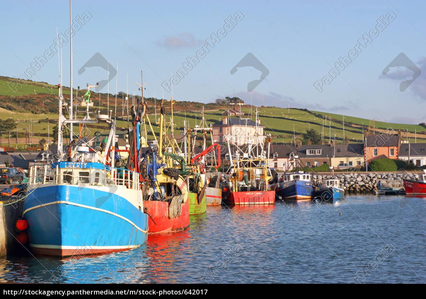 harbor, scenery, in, ireland - 642017