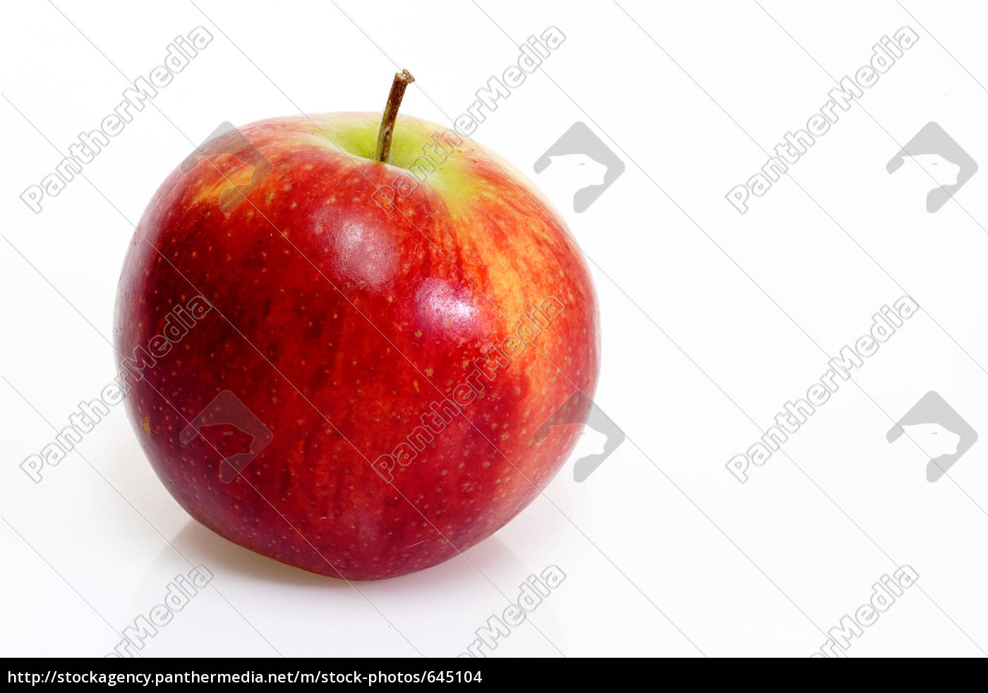 red, apple - 645104