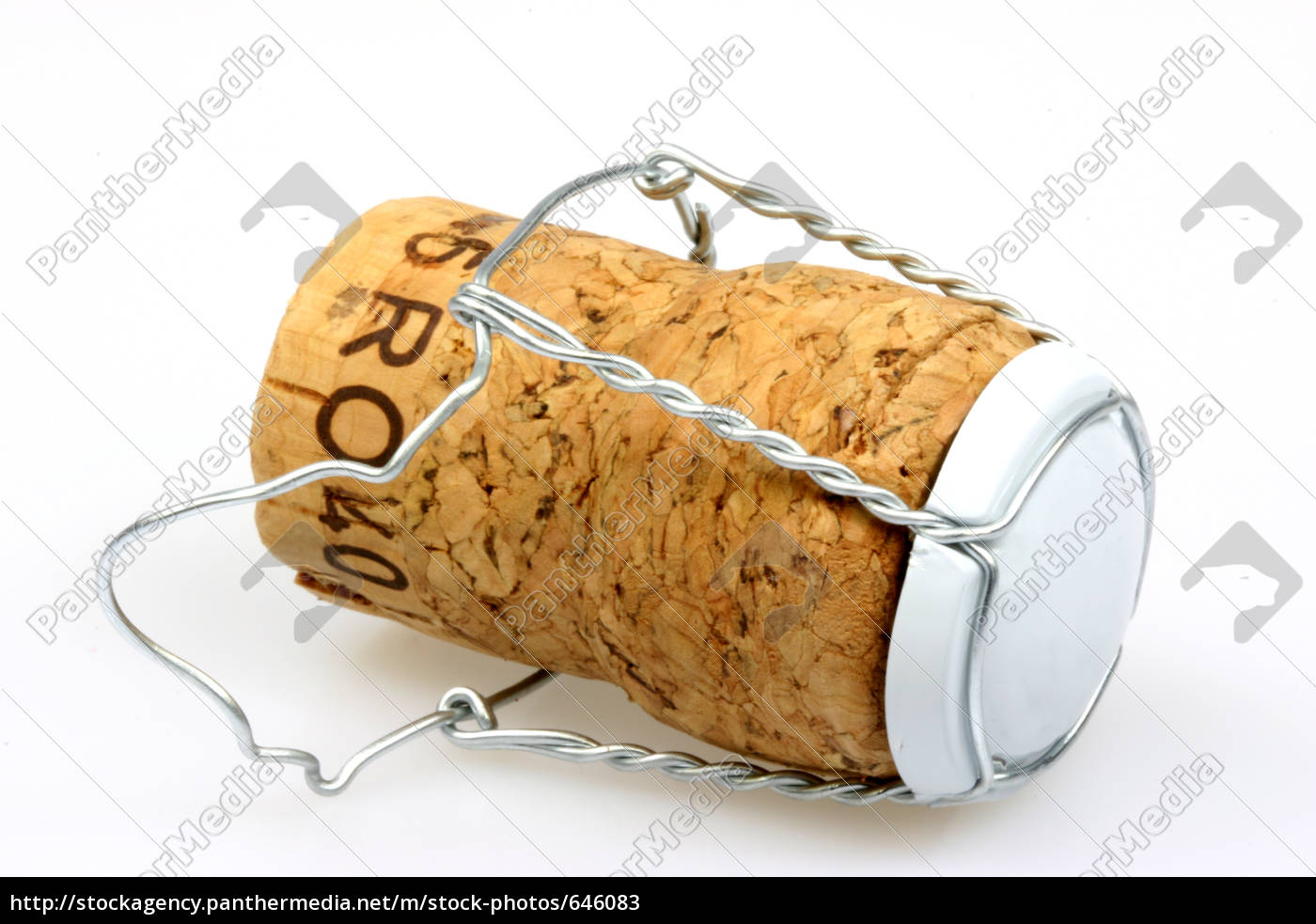 champagne, cork, with, clasp - 646083