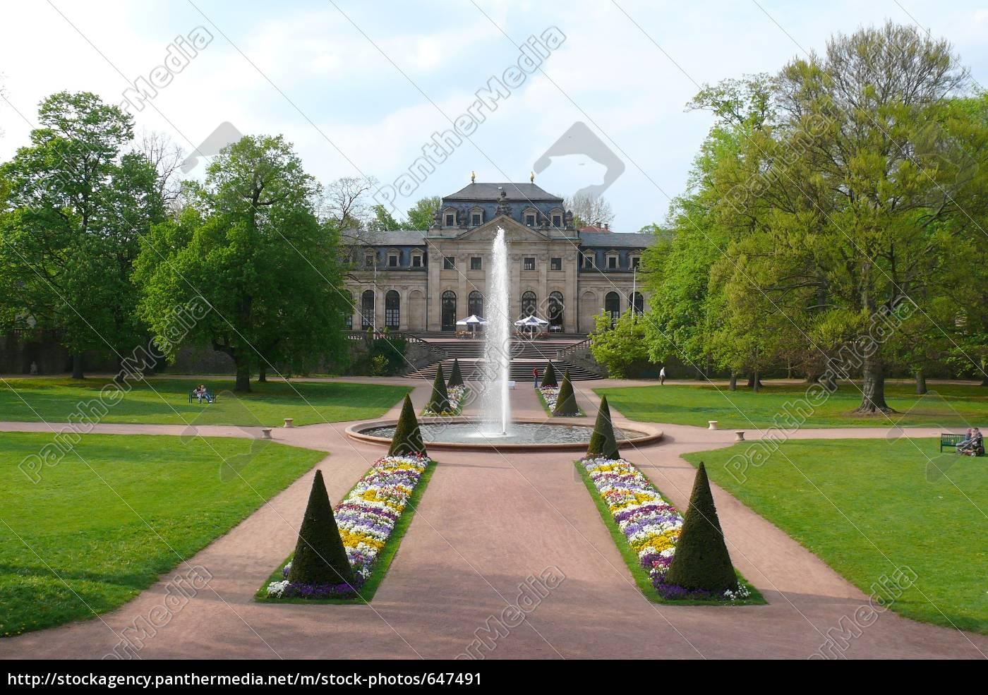 castle, park, fulda - 647491