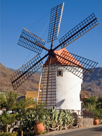 windmill, gran, canaria, ii - 651633