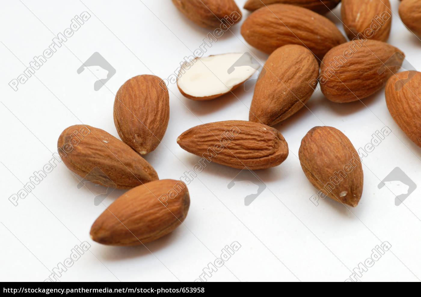almond, cores, -, close - 653958