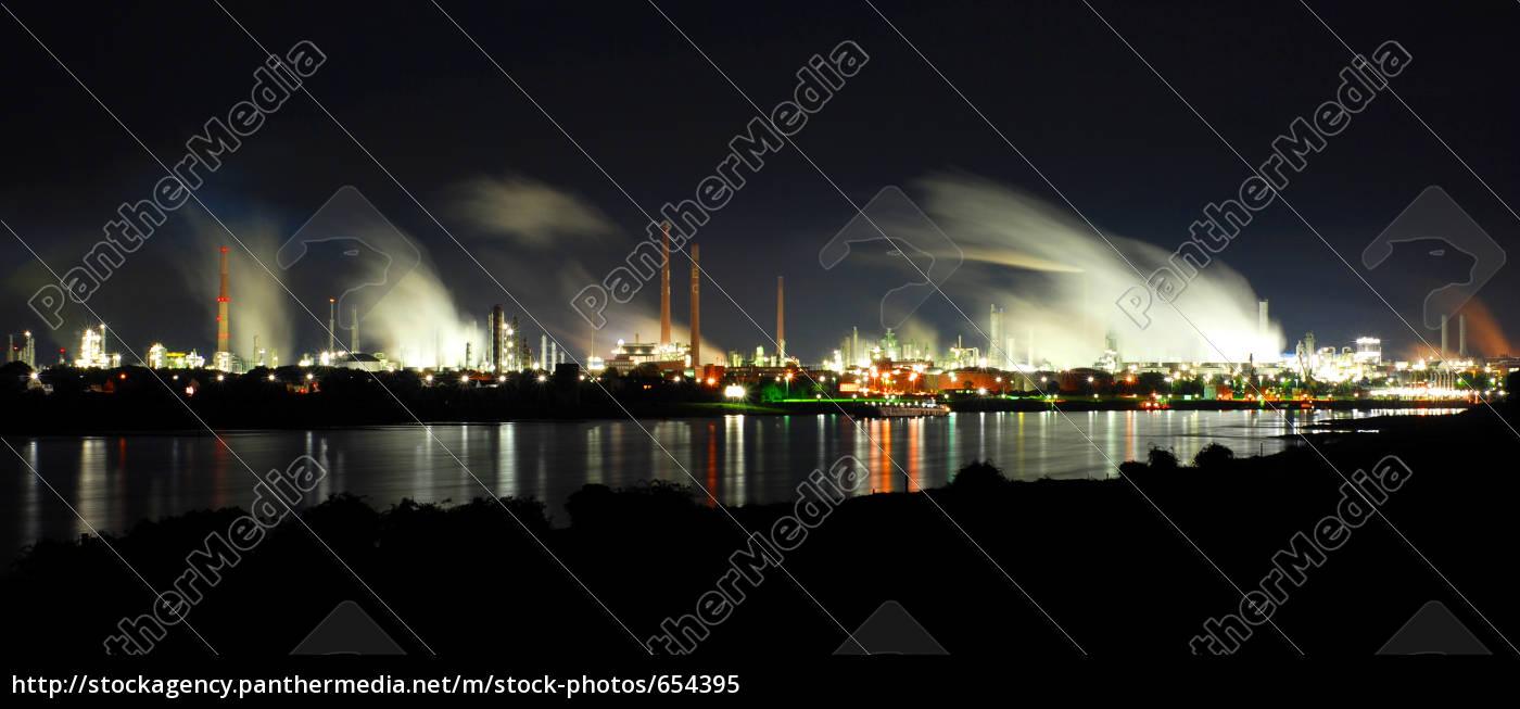 bayer, dormagen, night - 654395