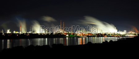 bayer, dormagen, night - 654395