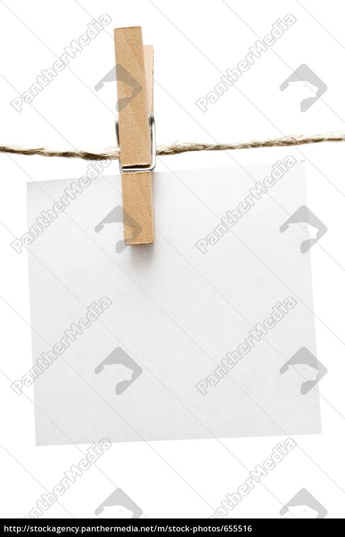 list, on, clothesline - 655516