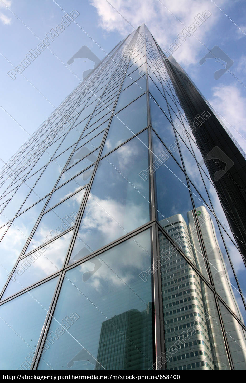 silver, tower, mirrored - 658400