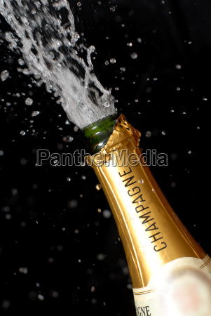 popping, champagne, bottle - 669672