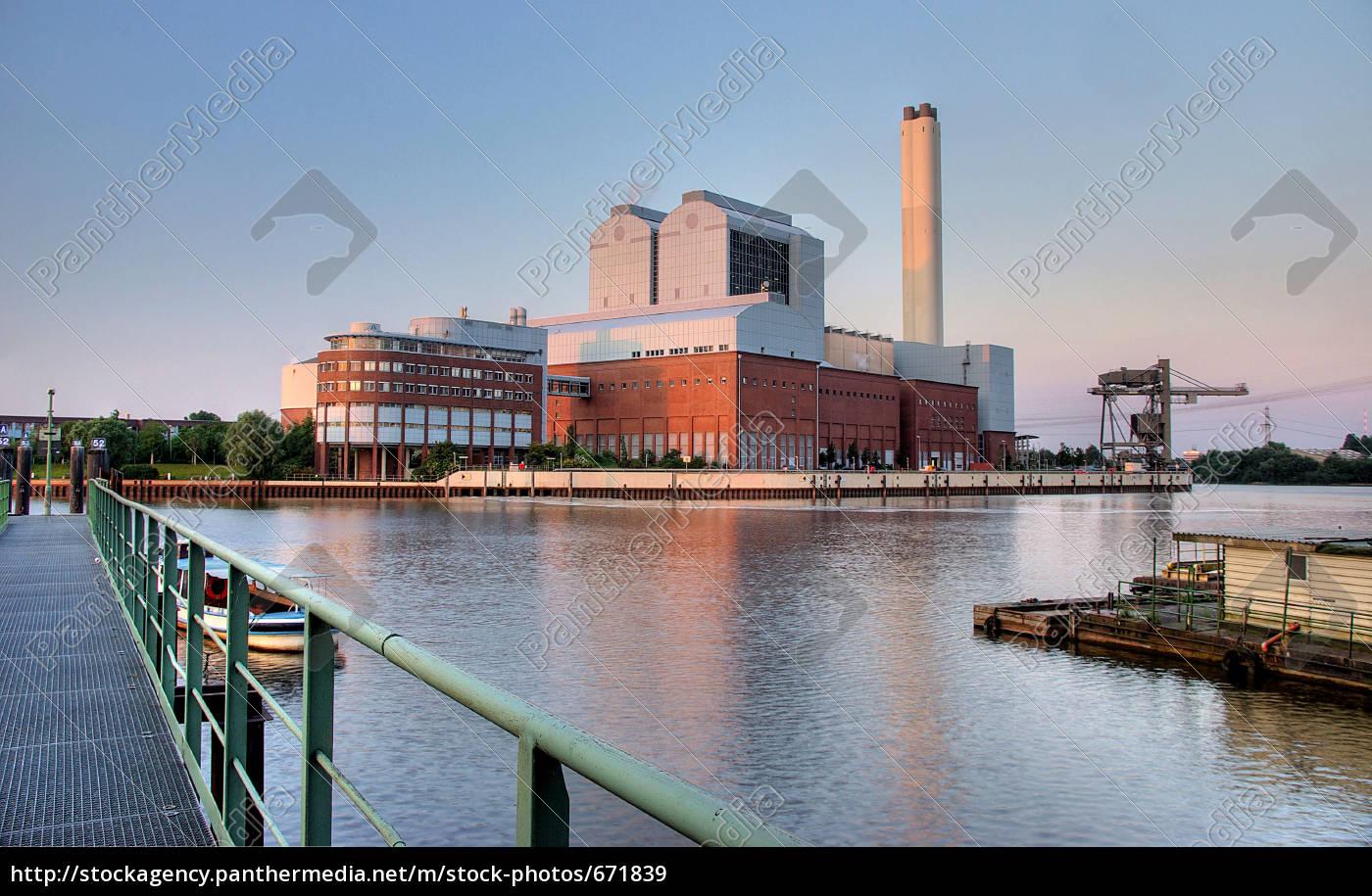 coal, power, plant, in, hamburg - 671839