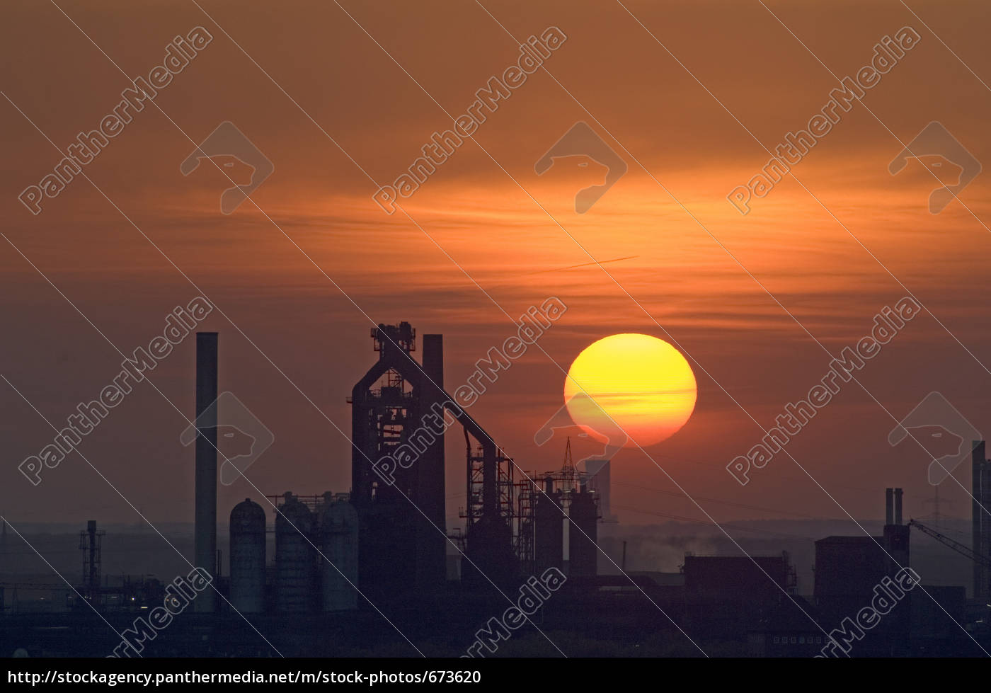 sunset, in, the, ruhr, area - 673620