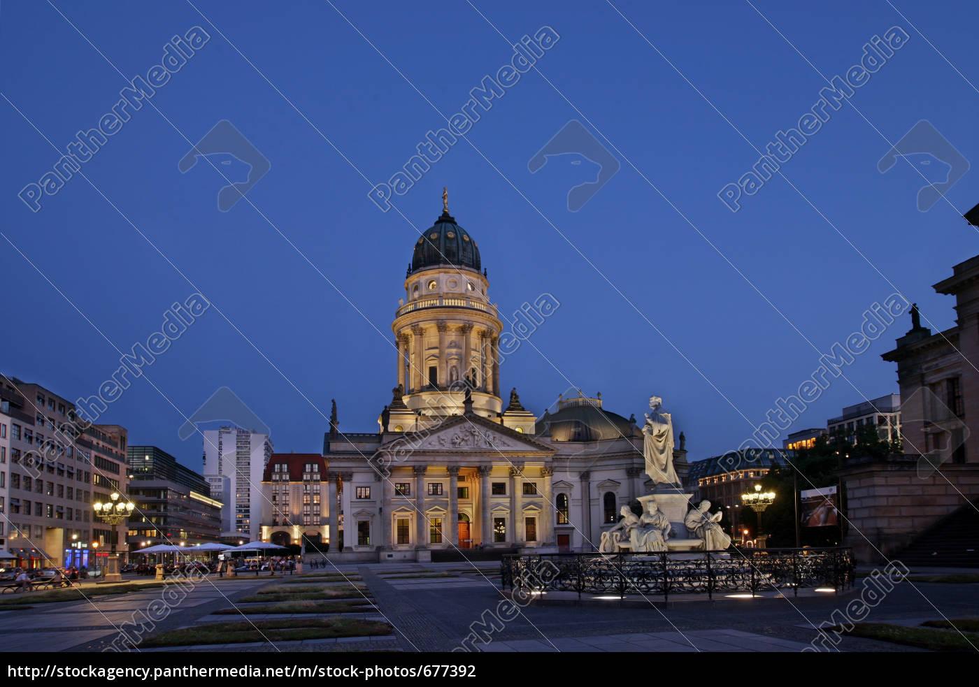 german, cathedral, at, the, gendarmenmarkt - 677392