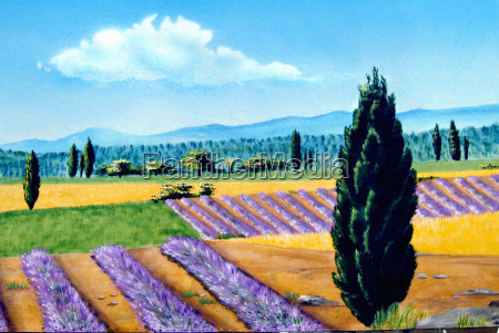 provence, painting - 677431