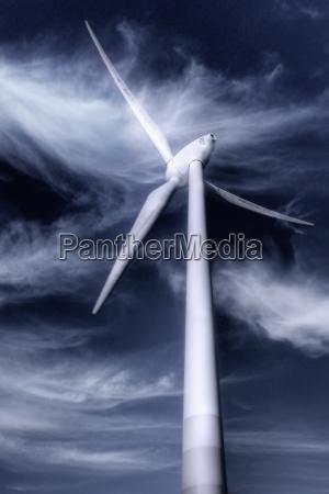 windmill, in, storm, (high, dynamic, range) - 680799