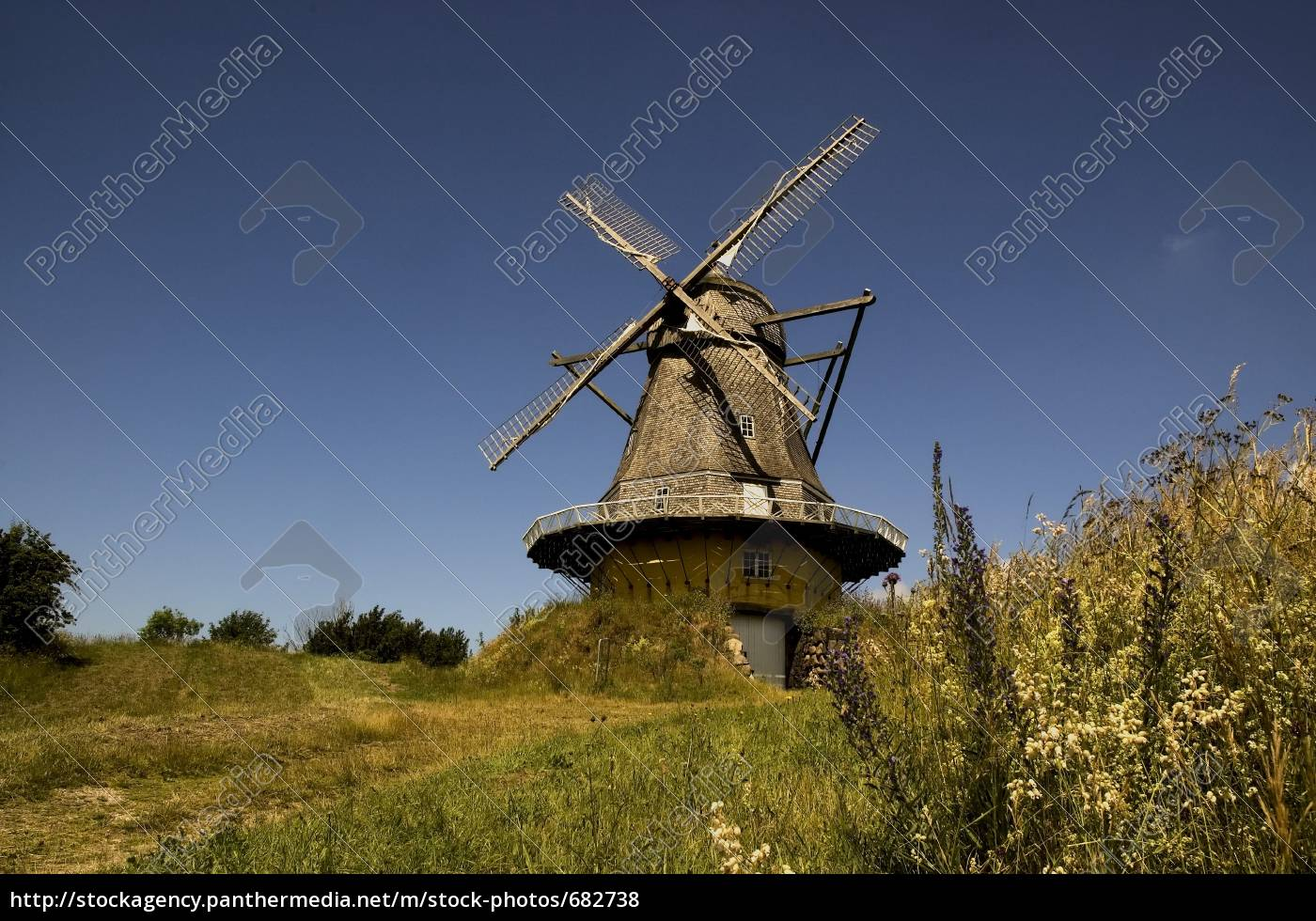 windmill, in, viby, 1 - 682738