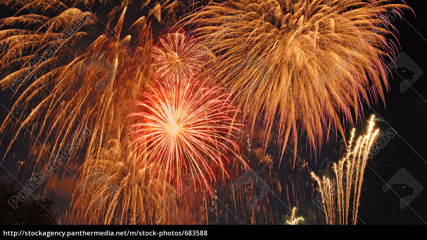 fireworks, donauinselfest, 2007 - 683588