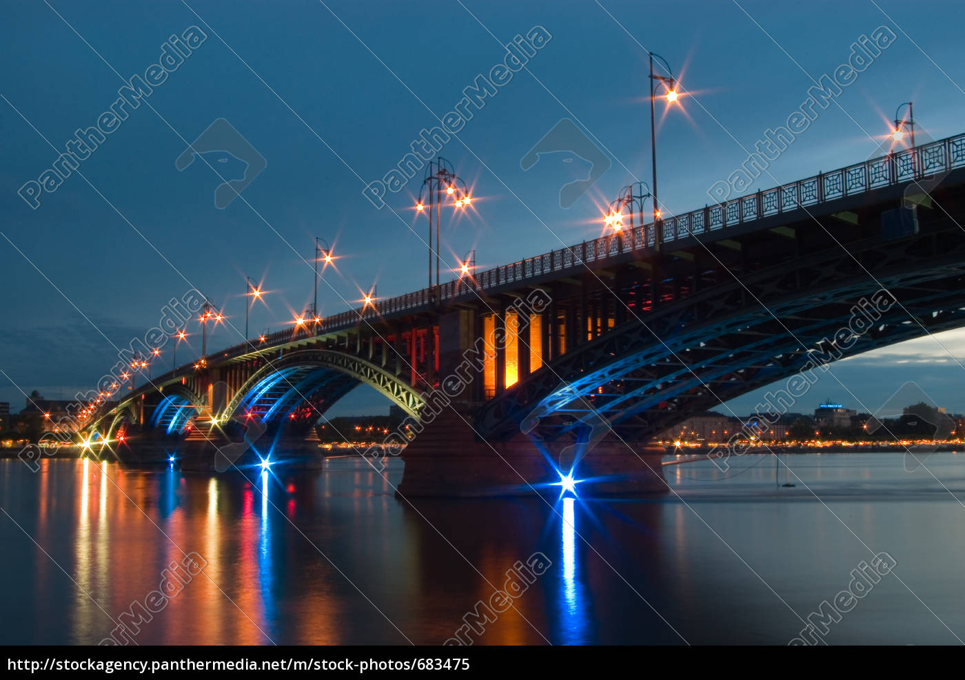 theodor, heuss, bridge, mainz, 1 - 683475