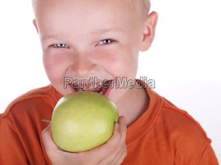 apple, eating - 685533