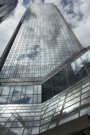 german, bank, tower, frankfurt - 686135